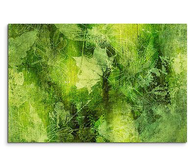 ntergrund Herbst Blätter abstrakt grün schwarz gelb (Herbst Blätter Hintergrund)