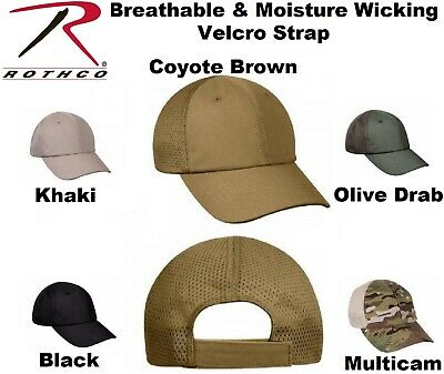 Tactical Mesh Cap Adjustable Military Lightweight Breathable & Moisture Wicking