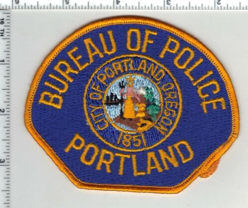 Portland Bureau of Police (Oregon) 2nd Issue Shoulder Patch