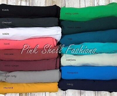 Simply The Best Solid Color Butter Soft CAPRI Leggings OS TC Plus 15 Colors YOGA