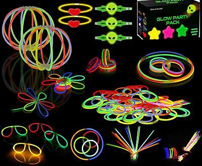Glow Stick Bracelets Party Pack 234 Pieces Glow Sticks Bulk 8'' Glow sticks Box