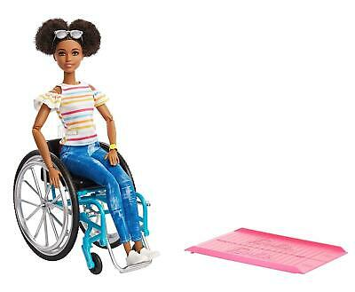 Barbie Fashionista & Wheelchair Brunette