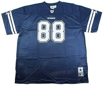 Michael Irvin Dallas Cowboys #88 Men's Big & Tall Mesh Player Jersey Navy ()
