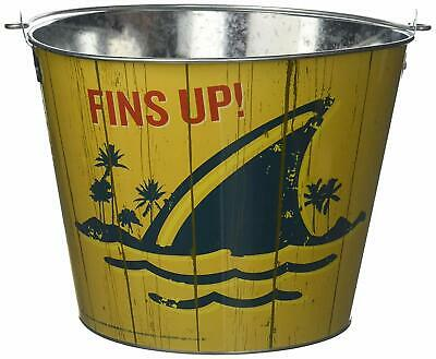~NEW~ Jimmy Buffett Margaritaville Landshark Galvanized Bucket - Galvanized Buckets Wholesale
