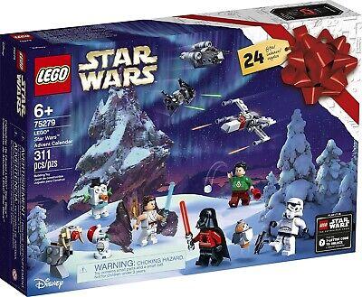 LEGO Star Wars Advent Calendar 75279 Building Kit for Kids, Fun Calendar