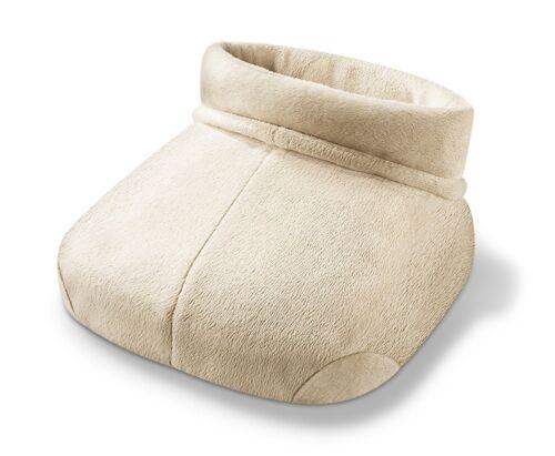 BEURER FWM 50 Shiatsu-Fußwärmer Massage und Wärme auch für große Füße beige