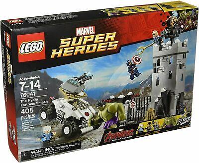 *NEW* LEGO Hydra Fortress Smash 76041 Avengers Captain America Strucker Hulk