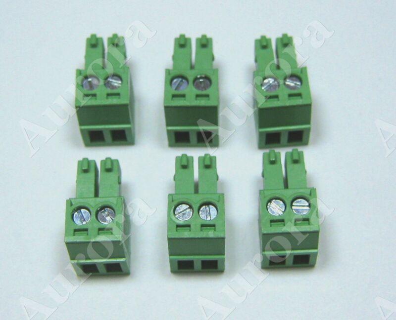 (6) 2 Pin - 3.5mm /  Pluggable Connector - Terminal Block - Phoenix Plug