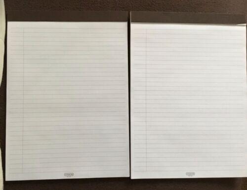 2 Coach Legal Size Note Pads (Fits Coach Portfolio 70299)