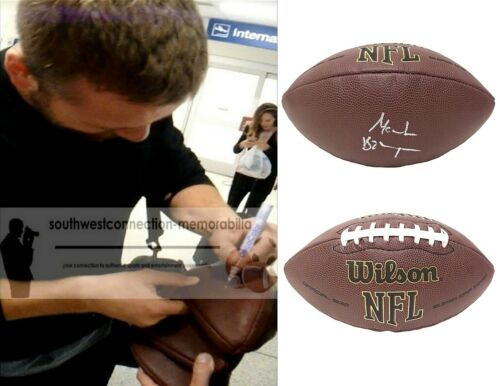 Moritz Bohringer Signed NFL Football Vikings Bengals Exact Proof Autograph COA