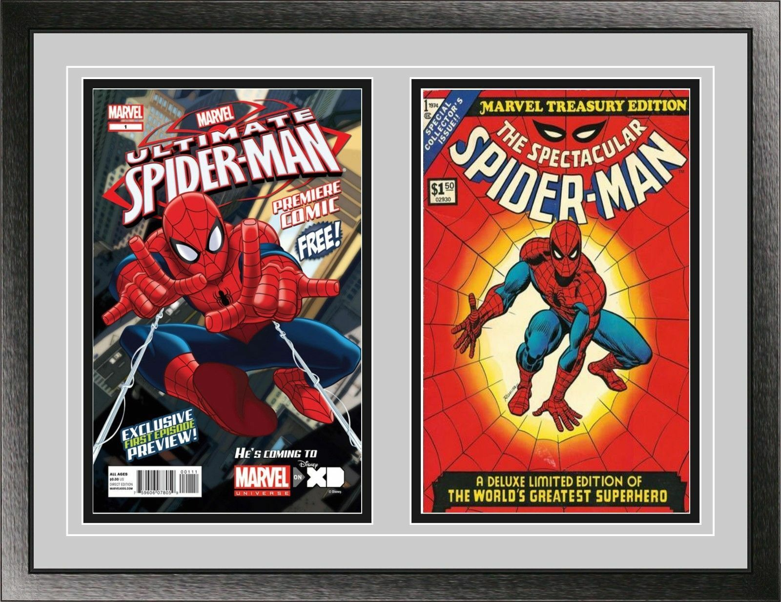 10 Max Pro Current Comic Showcase Display Cases UV Protection Wall Mount Display