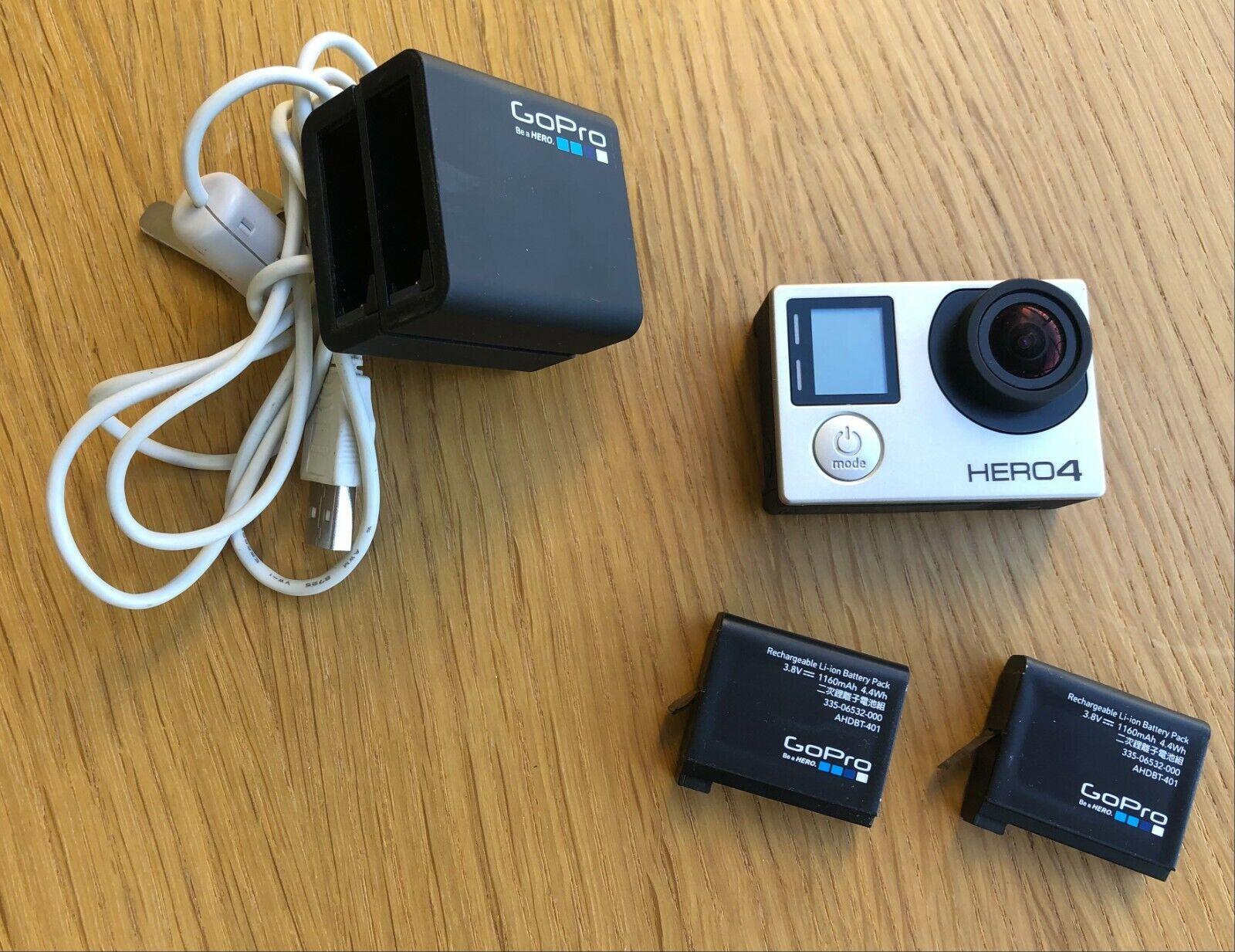 GoPro HERO 4 Black Edition 4K Camera Camcorder W/ Multi-sport Accessories - $89.00