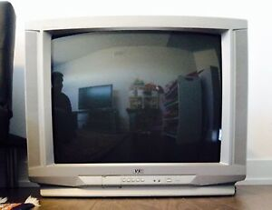 Excellent Color Tube Television Tv with stand and remote