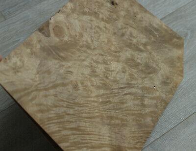 Myrtle Burl Wood Veneer 4 Sheets 12.2 X 8.66 31 X 22 Cm 0.55 Mm 145