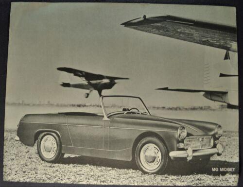 1962 MG Midget Sales Brochure Sheet Excellent Original 62