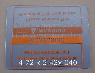 1 Clear Welding Cover Lens Plate 4.72 X 5.43 Striker Xxl Digital