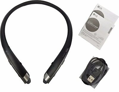 New LG Tone Platinum HBS-1100 Bluetooth Headset Harman Kardon Platinum Black