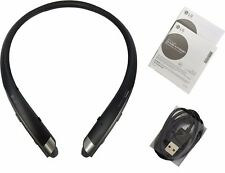 New LG Tone Platinum HBS-1100 Bluetooth Headset Harman Kardon Platinum Black