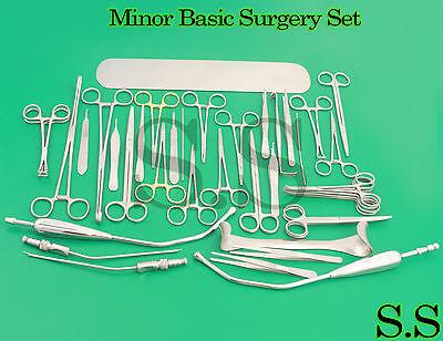 Minor Basic Surgery Set Surgical Ent Medical Instrument Ds-1003