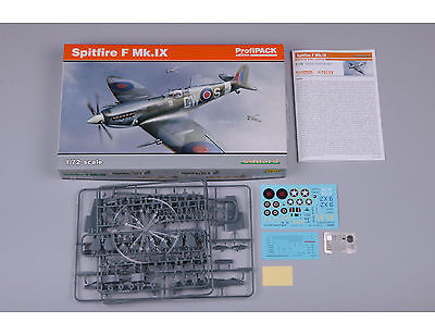 EDUARD 70122 Spitfire F Mk.IX in 1:72 Profi-PACK!!
