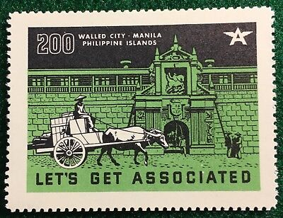 #200 Walled City, Manila, PI - Let's Get Associated Flying A Gas & Oil Company - Party City Cinderella