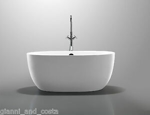 Bathroom acrylic free standing bath tub 1400 x 700 x 580 for Small baths 1100