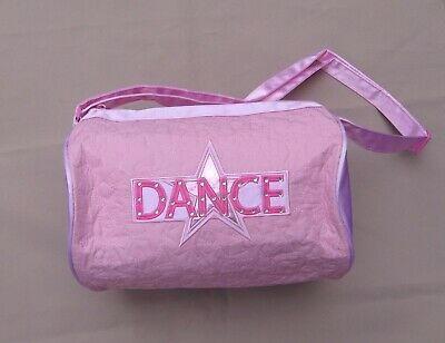 Shoe bag quilted star duffel Dance rhinestones tote utility ballet jazz NEW