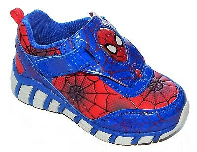 SPIDER-MAN MARVEL Light-Up Sneakers Shoes w/ i-Turn NWT Size 8 9 10 11 or 12 $38 - Spiderman Light Up Sneakers