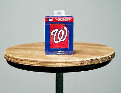 MLB Washington Nationals Baseball Team Sports Playing Cards Deck Sealed Box D.C.