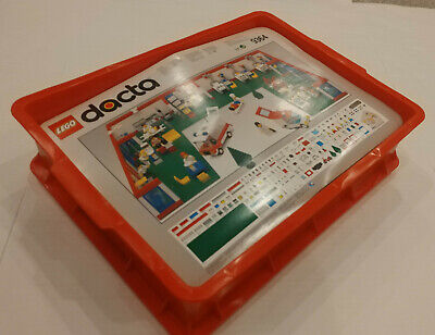 LEGO DACTA Set 9364 Hospital with Red Bin Emergency ER Ambulance New In Box NIB