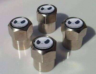 JACK SKELLINGTON NIGHTMARE CHRISTMAS TYRE VALVE CAPS FOR TIRE WHEEL