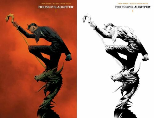House of Slaughter 1 2nd Print Jae Lee 1:10 Variant + Cover A Set Pre-Sale 11/17