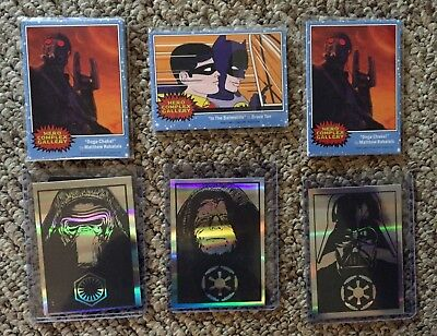 Guardians Of The Galaxy Star Wars (Star Wars, Darth Vader, Kylo Ren, Guardians of the Galaxy, Batman Trading Cards)