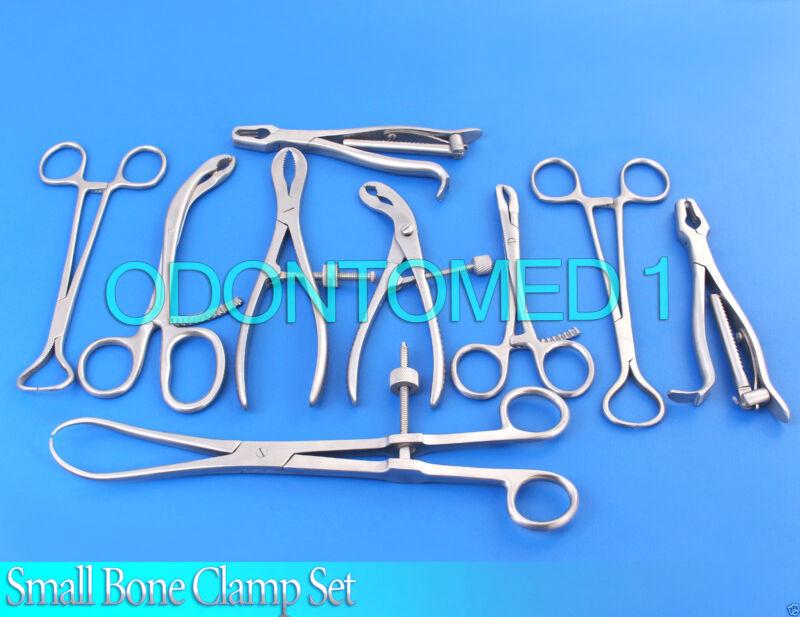 Small Bone Clamp Set Orthopedic Instruments Ds-1124