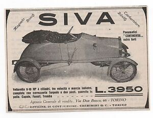 Pubblicita-epoca-AUTO-SIVA-ITALY-CAR-old-advertising-werbung-publicite-reklame