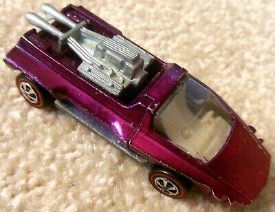 Vintage 1960s Mattel Redline Hot Wheels - HAIRY HAULER - Magenta Spectraflame
