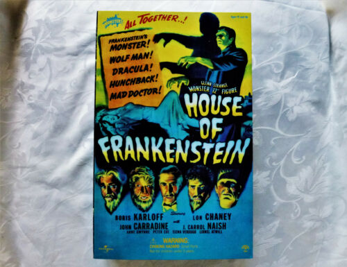 "Sideshow 12"" Glenn Strange House Of Frankenstein Universal Monsters"