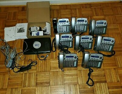 Xblue Networks X16 8-phone System Bundle With X16 Communications Server