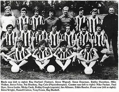 COLCHESTER UNITED FOOTBALL TEAM PHOTO 1978-79 SEASON