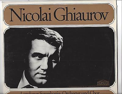 Nicolai Ghiaurov Londoner Symphonie Orchester Edward Downes : Parnass LP