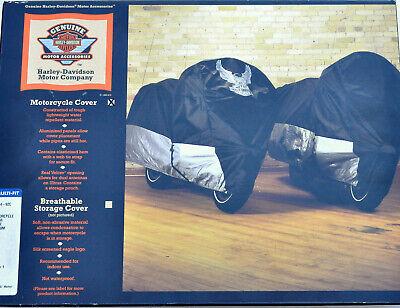 Unused Harley OEM Indoor - Outdoor Motorcycle Cover Eagle H-D Logo - 98724-92C