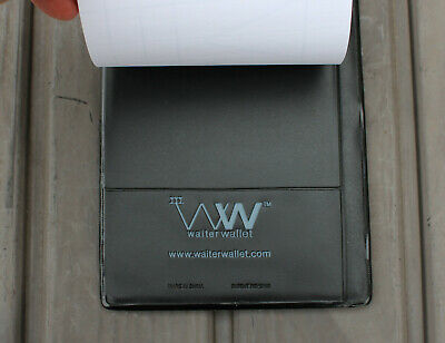Waiter Wallet Restaurant Bill Check Credit Card Holder Server