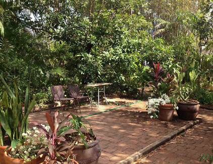 Spacious fully furnished home with beautiful tropical garden