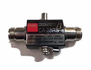 Lightning Arrestor N female to N female jack 0-3GHZ 230V 50Ω 200W CA-23R Coaxial
