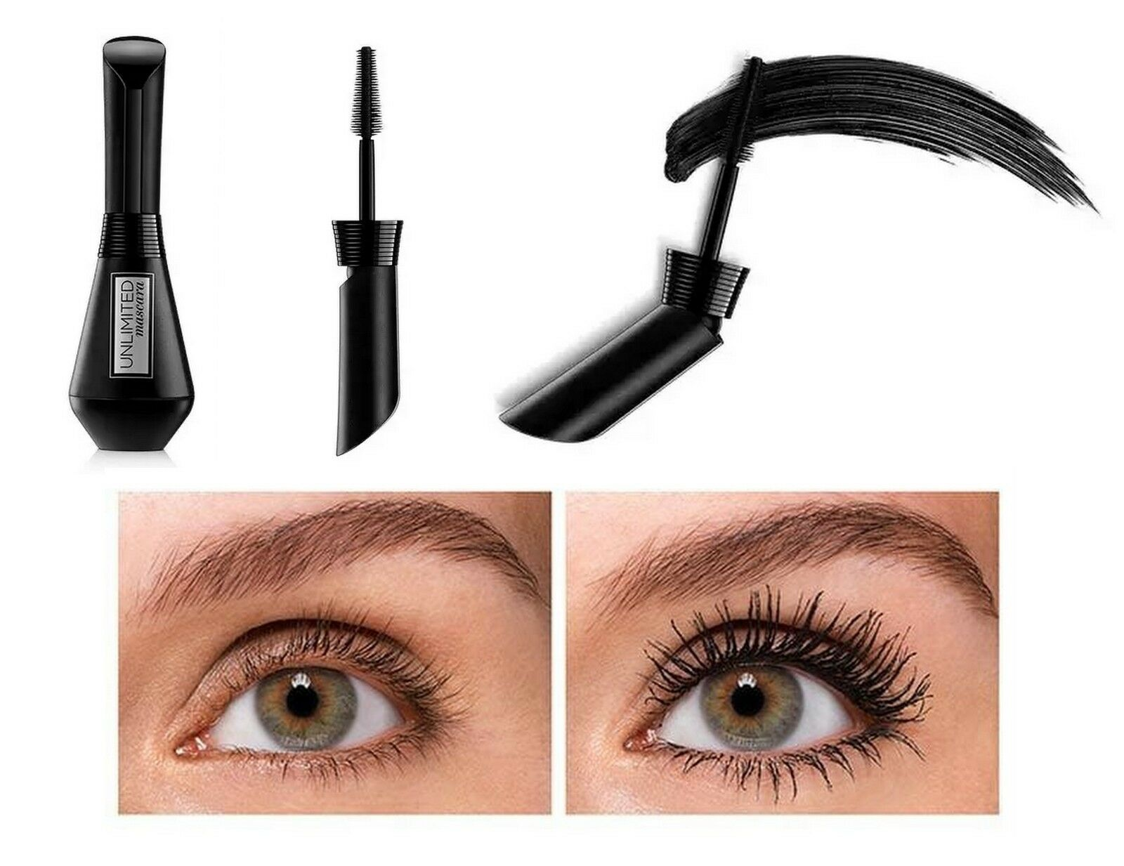 Loreal Paris Infallible Unlimited Bendable Mascara Lengthens & Volumises New In!