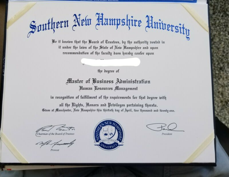CUSTOM PROFESSIONAL COLLEGE OR UNIVERSITY DIPLOMA + 2 FULL SETS OF TRANSCRIPTS