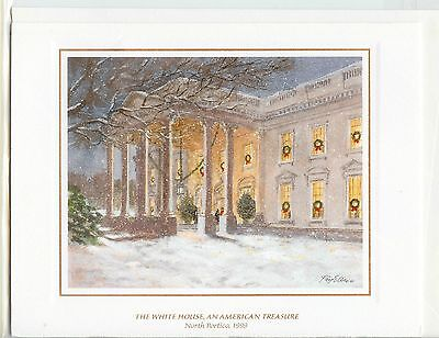 1999 White House OFFICIAL Christmas Card President BILL CLINTON *NEW*