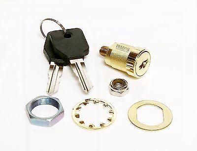 Stack-On Replacement Cylinder Cyl Lock New Gun Cabinet Safe Storage 2 keys