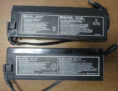 Sony Trinitron CRT PVM Monitor Batteries (2) - Retro Arcade Video Gaming