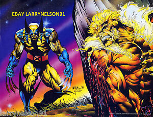 WOLVERINE-VS-SABRETOOTH-MARVEL-COMIC-BOOK-POSTER-MUTANT-MASSACRE-UNCANNY-X-MEN